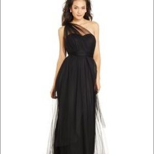 Black Convertible Tulle Gown for wedding/formal